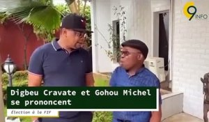 Élection à la FIF: Digbeu Cravate et Gohou Michel se prononcent