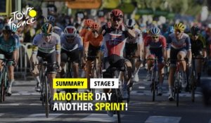 #TDF2020 - Stage 3 - Highlights