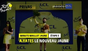 #TDF2020 - Étape 5 / Stage 5 - LCL Yellow Jersey Minute / Minute Maillot Jaune