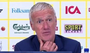 Football - Nations League - Didier Deschamps after France 1-0 Sweden