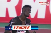 Fall champion de France du 100 m - Athlétisme - Championnats de France