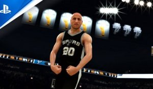 NBA 2K21 MyTEAM: IDOLS Series I - Manu Ginobili Pack | PS4