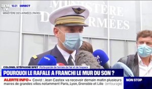 "Porte-parole de l'armée de l'air: ""Le rafale a eu ordre de passer supersonique pour intercepter"" l'avion qui avait perdu le contact"
