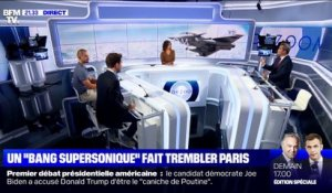 "Un ""bang supersonique"" a fait trembler Paris - 30/09"