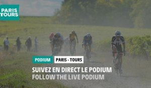 Paris-Tours 2020  - Live podium signature