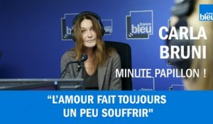 Carla Bruni face à l'amour, confidences intimes