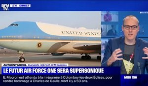 Le futur Air Force One sera supersonique - 09/11