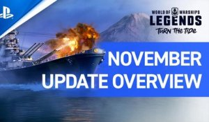 World of Warships: Legends – November Update Overview | PS4
