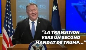 "Pompeo promet une ""transition pacifique"" entre Donald Trump et ... Donald Trump"