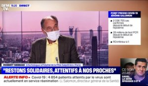 "Covid-19 : Jérôme Salomon affirme que ""nos efforts collectifs commencent à porter leurs fruits"" - 17/11"