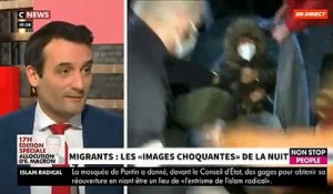 "Evacuation de migrants à Paris - Accrochage ce matin en direct dans ""Morandini Live"" sur CNews entre Eduardo Rihan Cypel et Florian Philippot - VIDEO"