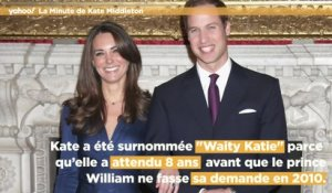 La minute de Catherine Middleton