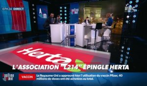 "Dupin Quotidien : L'Association ""L214"" épingle Herta - 03/12"