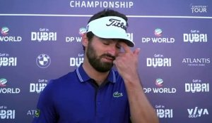 Golf in Dubai Championship (T2) : La réaction d'Antoine Rozner