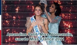 Amandine Petit, Miss Normandie, sacrée Miss France 2021