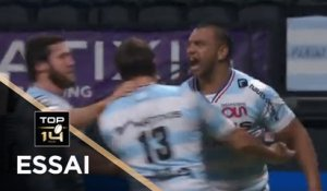 TOP 14 - Essai de Kurtley BEALE (R92) - Racing 92 - Agen - J12 - Saison 2020/2021