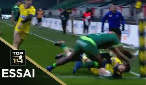 TOP 14 - Essai de Bastien POURAILLY (ASM) - Pau - Clermont - J14 - Saison 2020/2021