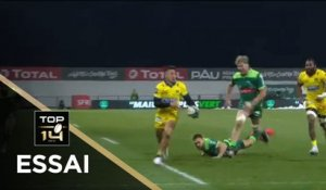 TOP 14 - Essai de Tim NANAI-WILLIAMS (ASM) - Pau - Clermont - J14 - Saison 2020/2021