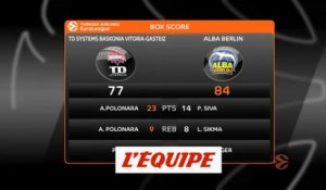 Les temps forts de Baskonia Vitoria - Alba Berlin - Basket - Euroligue (H)