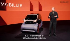 Mobilize EZ-1 Prototype - Interview Patrick LECHARPY, designer