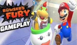 7 Minutes of Bowser's Fury Gameplay - Super Mario 3D World