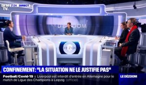 Confinement: « La situation ne le justifie pas » - 04/02
