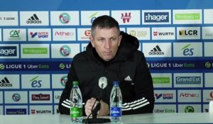 "Thierry Laurey : ""On n'y va pas battu"""