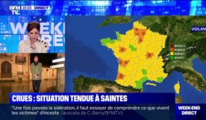 Crues: Situation tendue à Saintes - 05/02