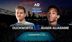 Highlights | James Duckworth - Felix Auger-Aliassime
