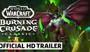 World of Warcraft Classic: Burning Crusade Reveal Trailer | BlizzCon 2021