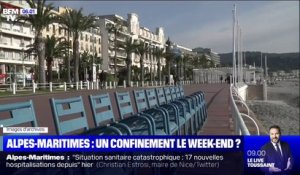 Vers un confinement le week-end sur le littoral des Alpes-Maritimes ?