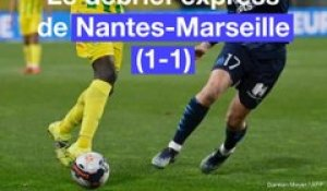 Ligue 1: Débrief de Nantes-Marseille (1-1)