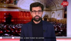 Séparatisme : le Sénat poursuit ses auditions - En séance (24/02/2021)