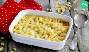 Gratin de macaronis réconfortant