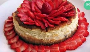Cheesecake aux fraises inratable