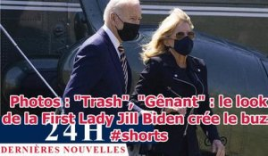 "Photos : ""Trash"", ""Gênant"" : le look de la First Lady Jill Biden crée le buzz #shorts"