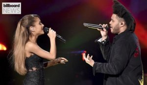 The Weeknd & Ariana Grande Drop 'Save Your Tears' Remix | Billboard News