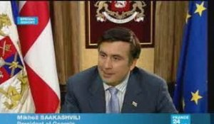 EXCLUSIVE: Intervw with Georgian President Saakashvili