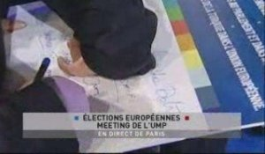 EVENEMENT,Meeting Europe UMP en direct