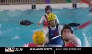 Kayak Polo : du water polo dans un kayak