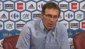 Mondial : Laurent Blanc refuse d'évoquer des sanctions