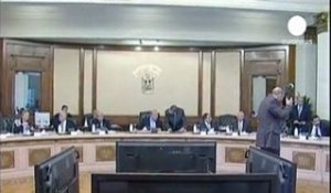 Egypte : dissolution du parlement et suspension de la...