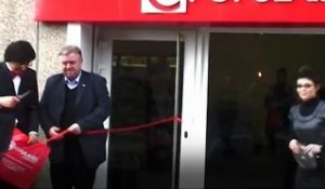 Inauguration du magasin Cpopulaire