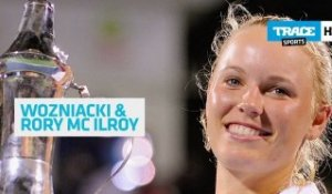 Wozniacki and McIlroy, the number 1 couple