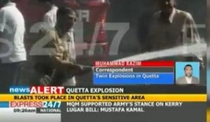 Pakistan : un double-attentat secoue Quetta
