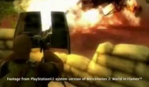 Mercenaries 2 : World in Flames (PS2) - Trailer de la version PS2