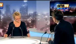 BFMTV 2012 : l'After RMC, Eva Joly