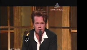 BILLY JOEL INDUCTS JOHN MELLENCAMP INTO ROCK HALL