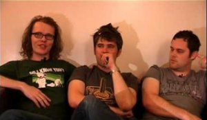 Scouting For Girls 2008 interview - Greg, Roy and Peter (part 5)