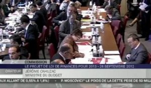 Audition de Pierre Moscovici et Jérôme Cahuzac devant la Commission des Finances